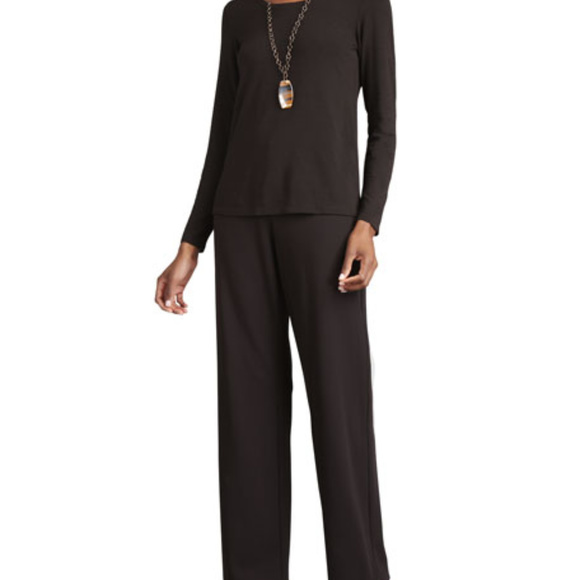 1c3027a216e67 Eileen Fisher Pants - Eileen Fisher Straight Leg Stretch Ponte Pants